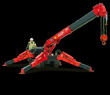 Unic URW 376 mini crane