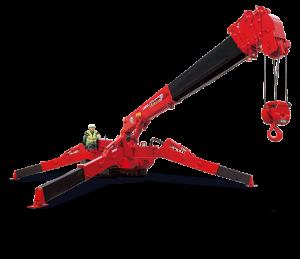 Unic URW 506 mini crane
