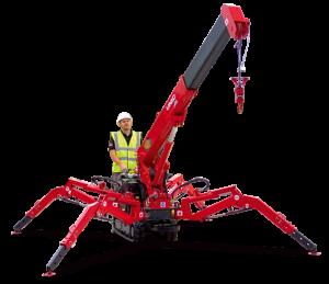 Unic URW-094 mini crane