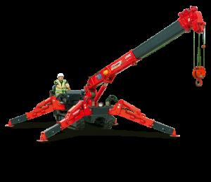 Unic URW-376 mini crane